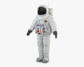 NASA Astronaut Apollo 11 3D model