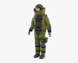 EOD suit 3D model