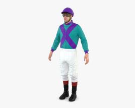 Jockey 3D model
