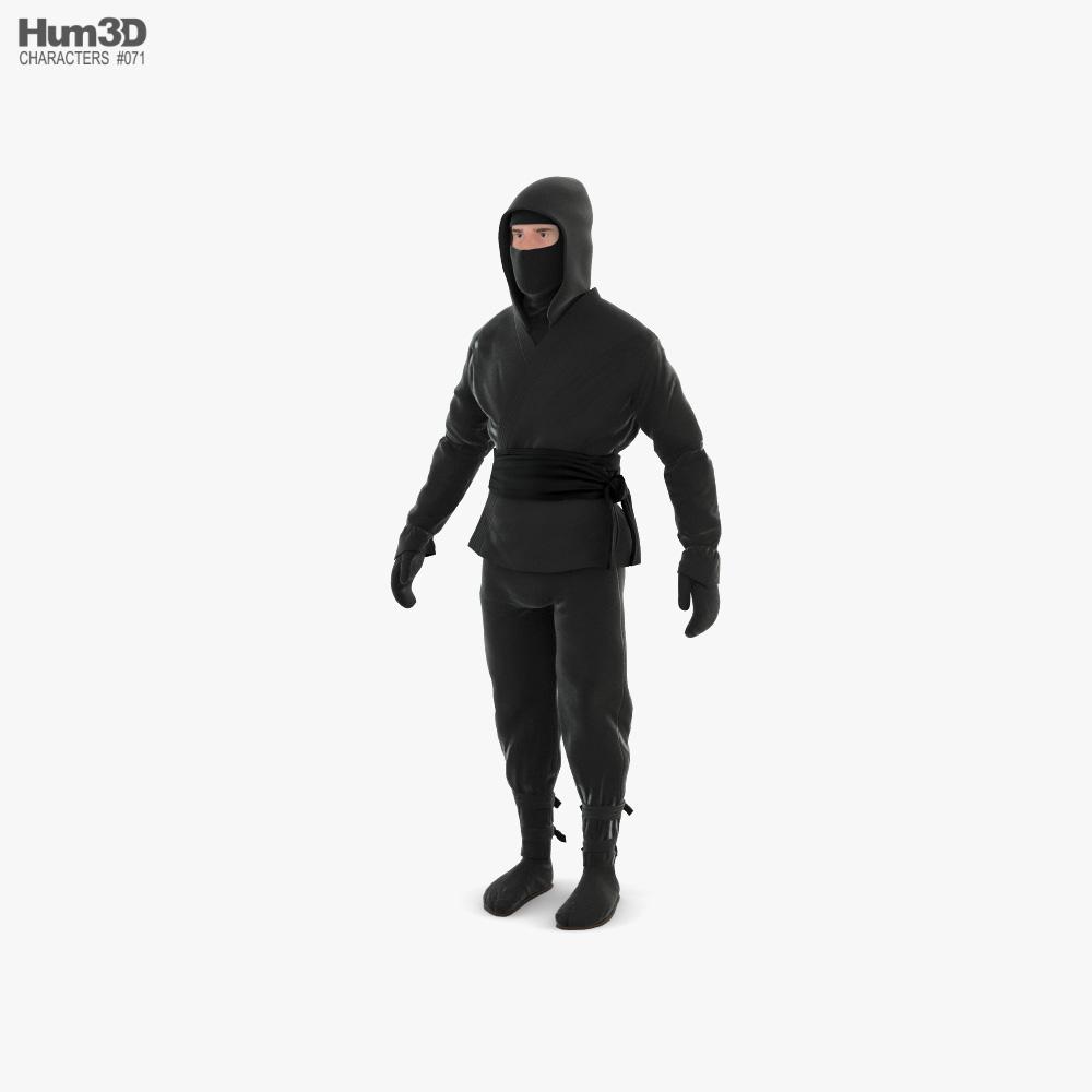 Ninja 3D model