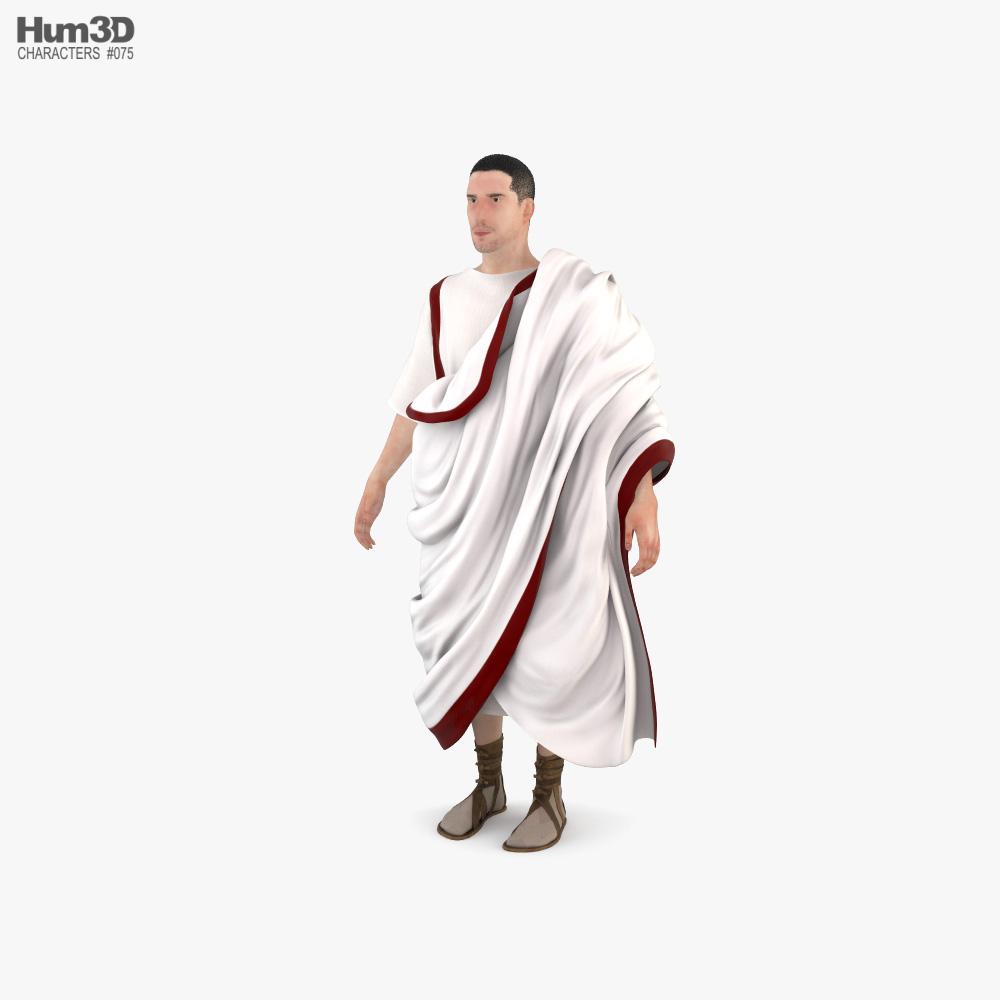 罗马人 3D模型