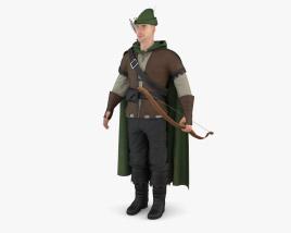 Robin Hood Modelo 3d