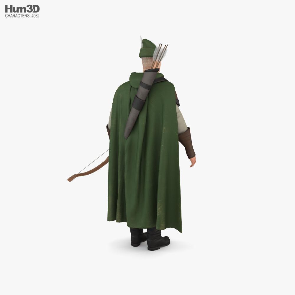 Robin Hood 3d model
