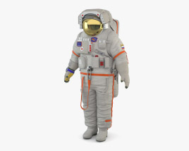 Orlan (traje espacial) Modelo 3D