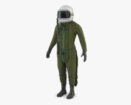 Flight Suit High Altitude Pilot 3D model