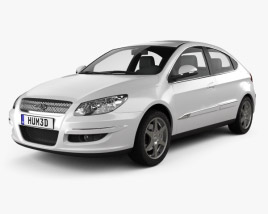 3D model of Chery A3 (J3) Hatchback 5-door 2012
