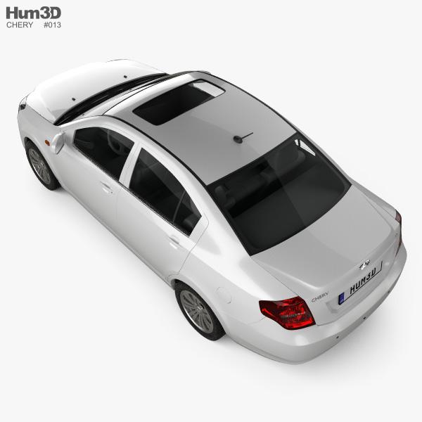 Chery E5 2012 3D model