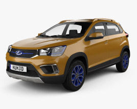 3D model of Chery Tiggo 3xe 2016
