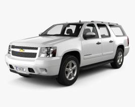 Chevrolet Suburban 2010 3D model