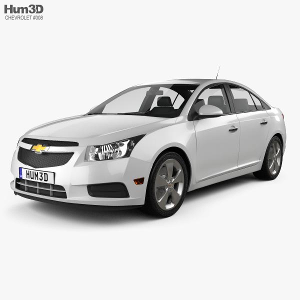 Chevrolet Cruze (J300) 2011 3D model