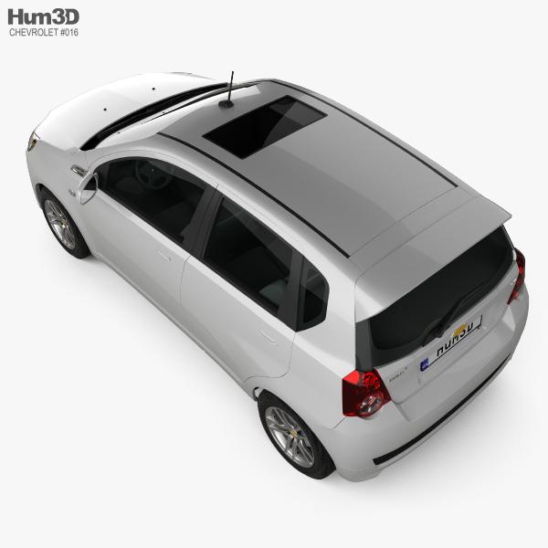 Chevrolet Aveo 5-door 2009 3D model