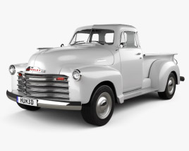 Chevrolet Advance Design Pickup 1951 3D model