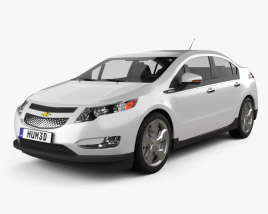 3D model of Chevrolet Volt 2011