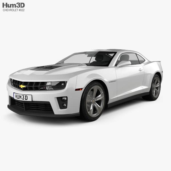 Chevrolet Camaro ZL1 2011 3D model