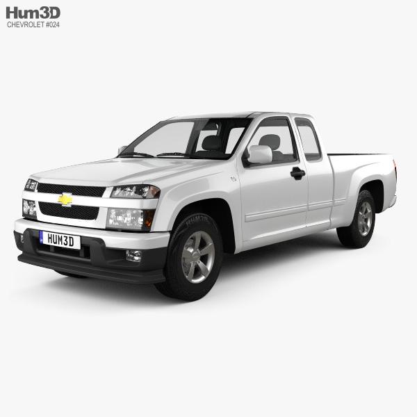 Chevrolet Colorado Extended Cab 2012 3D model