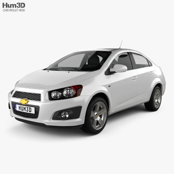 Chevrolet Aveo sedan 2011 3D model