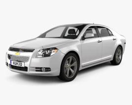3D model of Chevrolet Malibu 2012