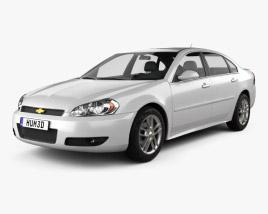 3D model of Chevrolet Impala 2012