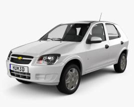 Chevrolet Celta 5-door hatchback 2011 3D model
