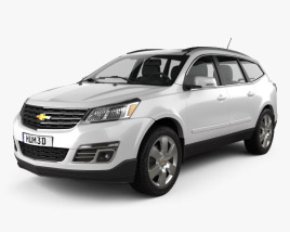 3D model of Chevrolet Traverse 2013