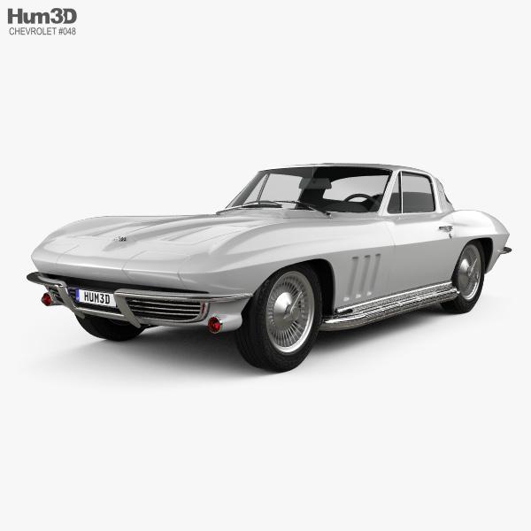 Chevrolet Corvette Sting Ray (C2) 1965 3D model
