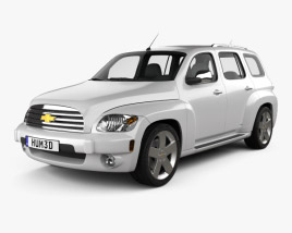 3D model of Chevrolet HHR wagon 2011