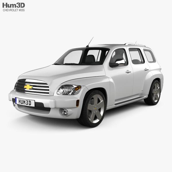 Chevrolet HHR wagon 2011 3D model