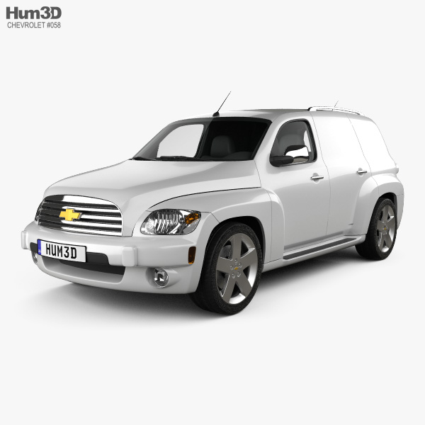 Chevrolet HHR Panel Van 2011 3D model