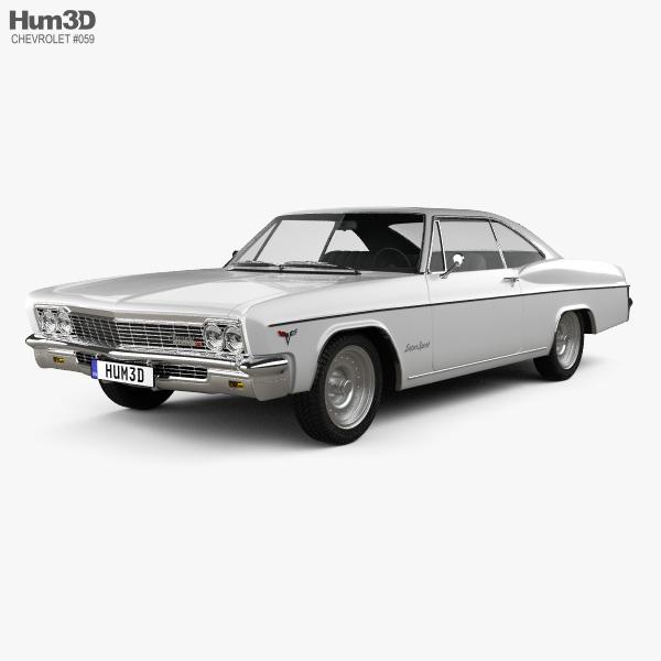 Chevrolet Impala SS Sport Coupe 1966 3D model