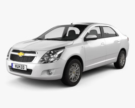 3D model of Chevrolet Cobalt 2012