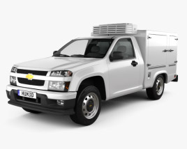 3D model of Chevrolet Colorado Hotshot I 2011