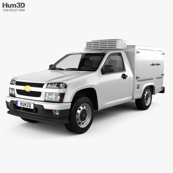 Chevrolet Colorado Hotshot I 2011 3D model