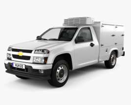 3D model of Chevrolet Colorado Hotshot II 2011
