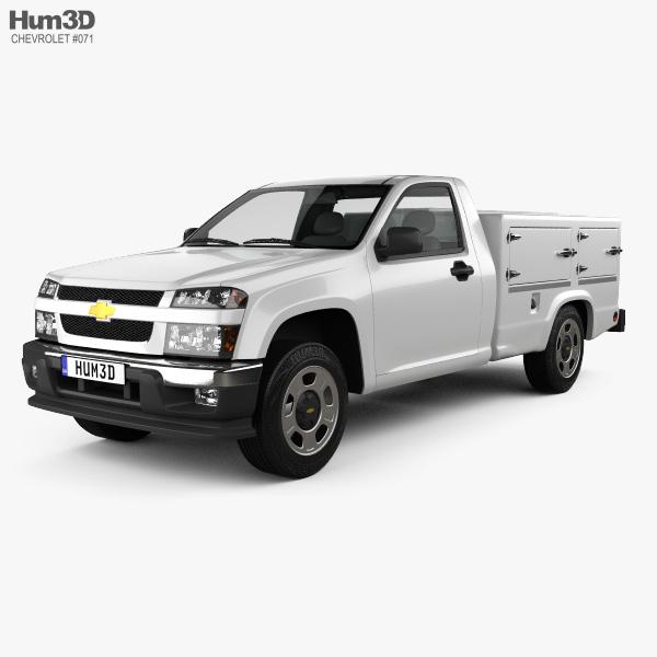 Chevrolet Colorado Hotshot II Lowboy 2011 3D model