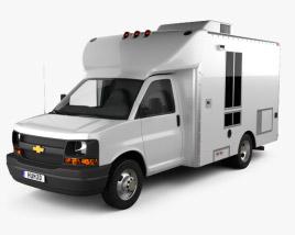 Chevrolet Express Mobile Vending 2003 3D model