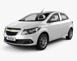 3D model of Chevrolet Onix 2013