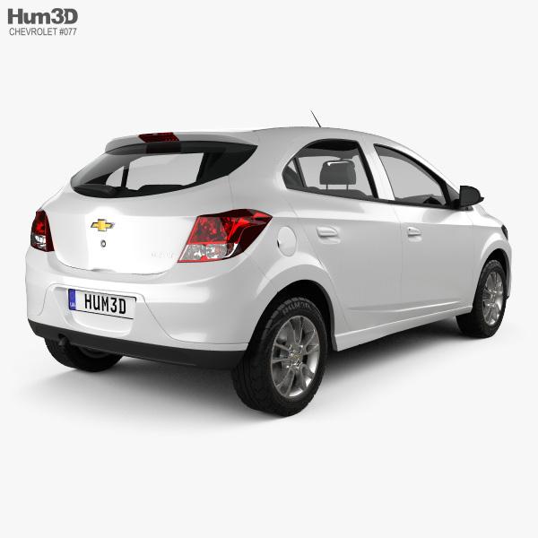 Chevrolet Onix 2013 3D model