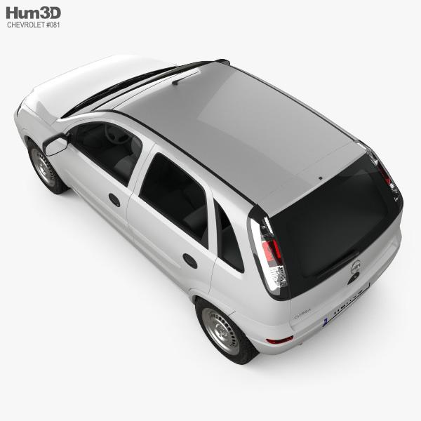 Chevrolet Corsa 5-door hatchback 2012 3D model
