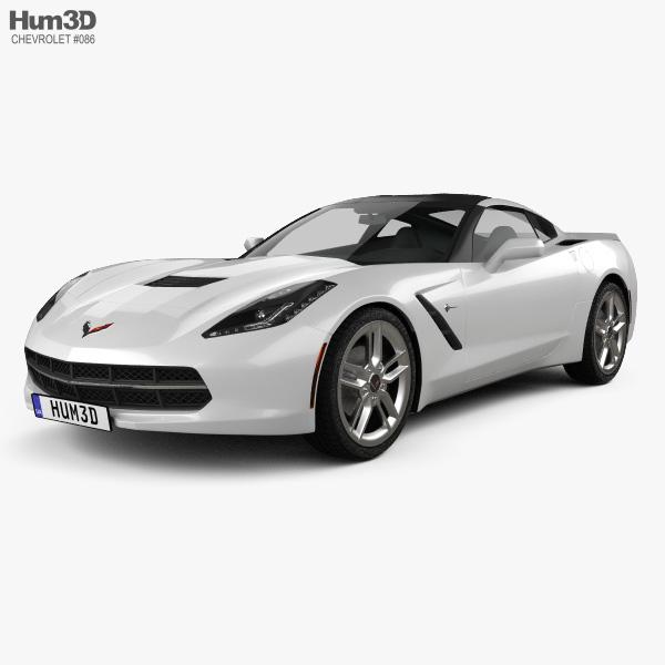 Chevrolet Corvette Stingray (C7) Coupe 2014 3D model