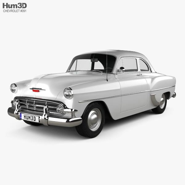 Chevrolet 210 Club Coupe 1953 3D model