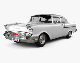 3D model of Chevrolet 150 sedan 1957