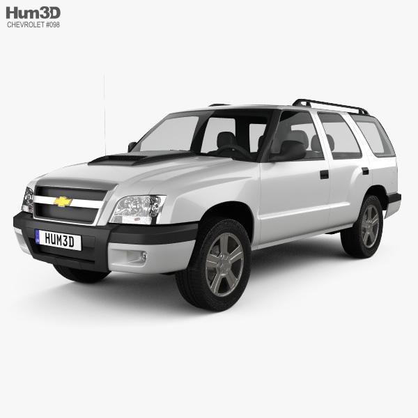 3D model of Chevrolet Blazer (BR) 2008