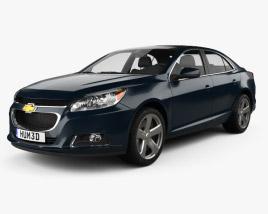 3D model of Chevrolet Malibu 2013
