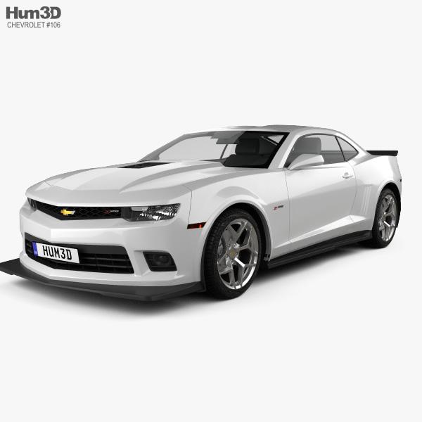 Chevrolet Camaro Z28 coupe 2014 3D model