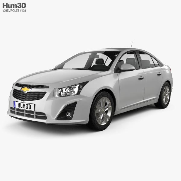 Chevrolet Cruze sedan 2013 3D model