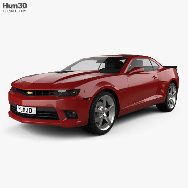 Chevrolet Camaro SS coupe 2014 3D model