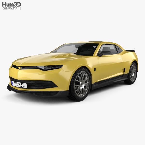 Chevrolet Camaro Bumblebee 2014 3D model