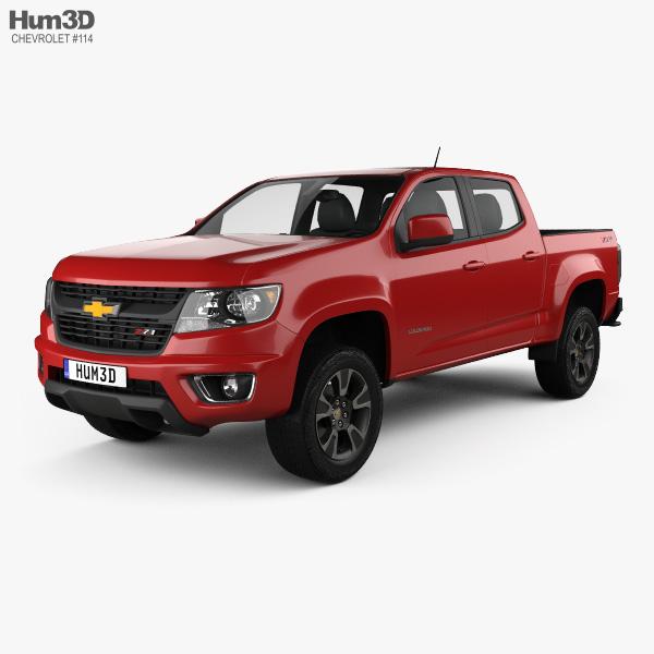Chevrolet Colorado Double Cab 2014 3D model