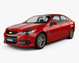 3D model of Chevrolet SS 2014