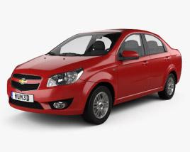 3D model of Chevrolet Lova (T250) 2010